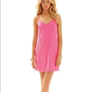 3974acb11483 Lilly Pulitzer. Lilly Pulitzer DUSK STRAP SPARKLY LACE SLIP DRESS